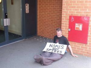 Homes not spikes