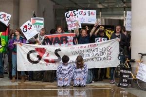 G4S demo 2012